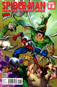 Paul has written for s veritable who's who of comic characters under Marvel Adventures banner