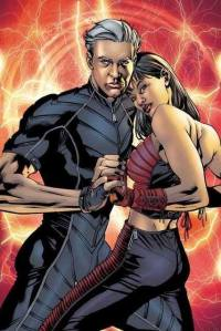 Quicksilver and Scarlet Witch in their Ultimate incarnations.