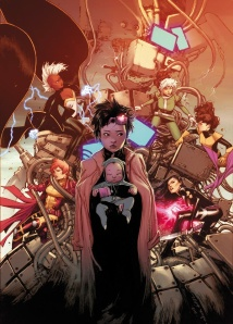 The front cover art for X-Men #2