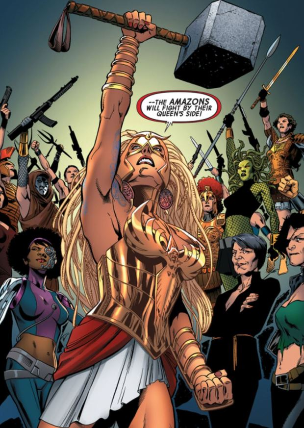Hippolyta, Has become a standout character since her resurrection. Click to enlarge.