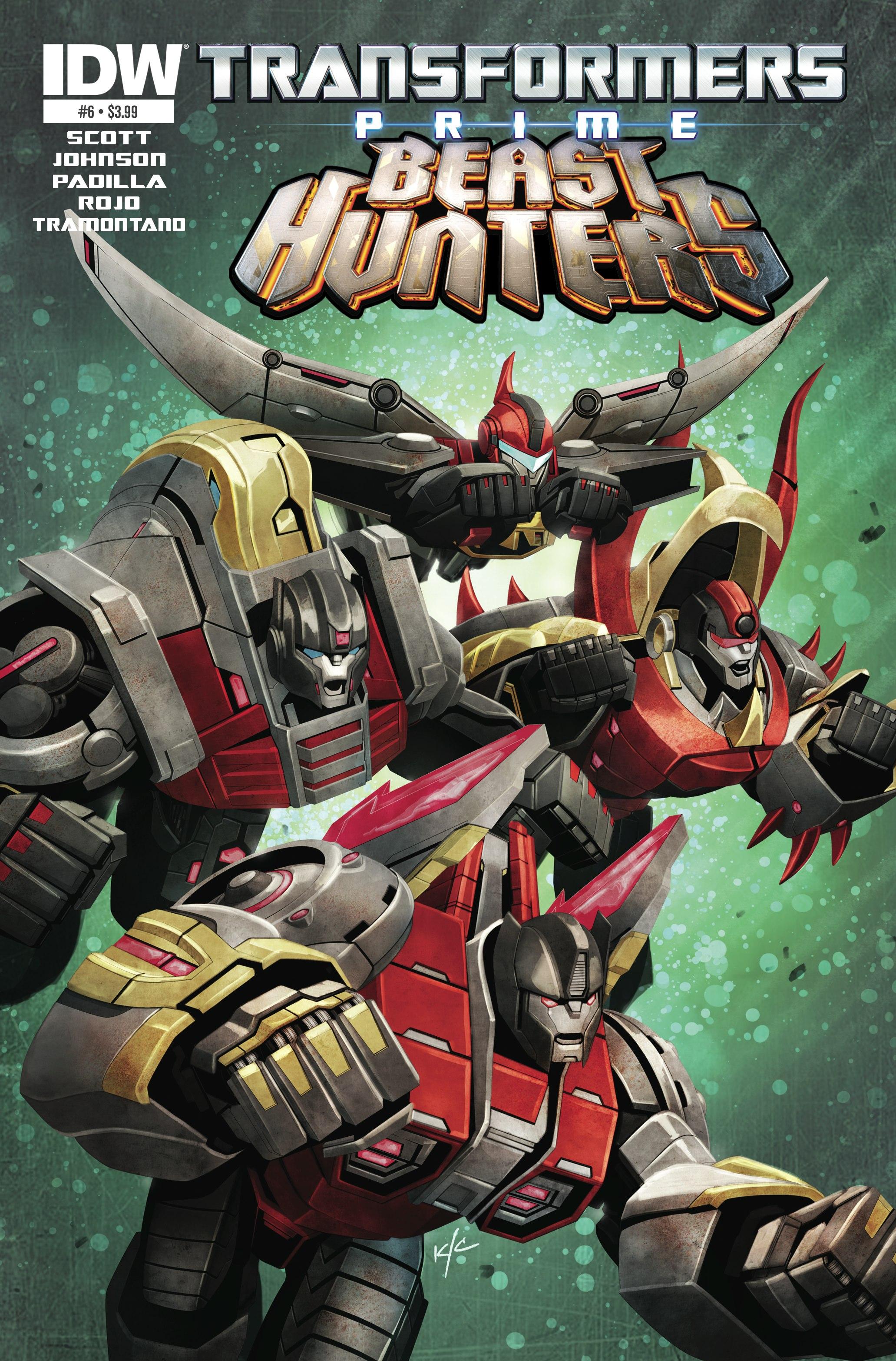 Review  Transformers Prime Beast Hunters 6 Of 8  Big -7453