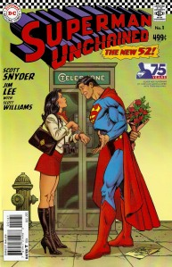 Superman Unchained #1 Silver Age Variant by Jose Luis Garcia Lopez