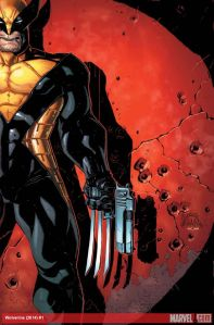 Cover to Wolverine #1 (Vol.6)Click to enlarge.