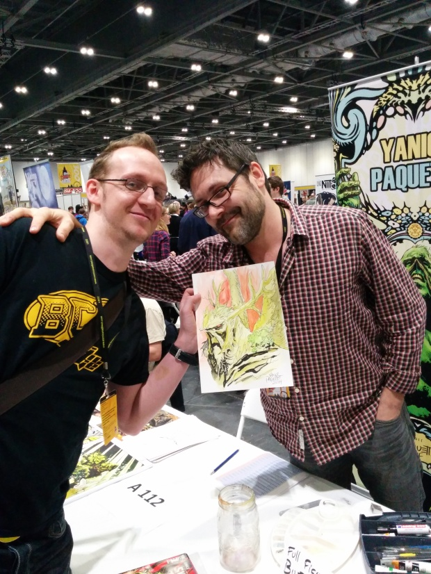 Craig, Yannick and a Swamp Thing sketch
