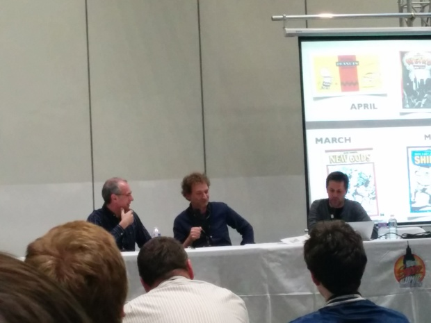 IDW Panel with Dave Gibbons