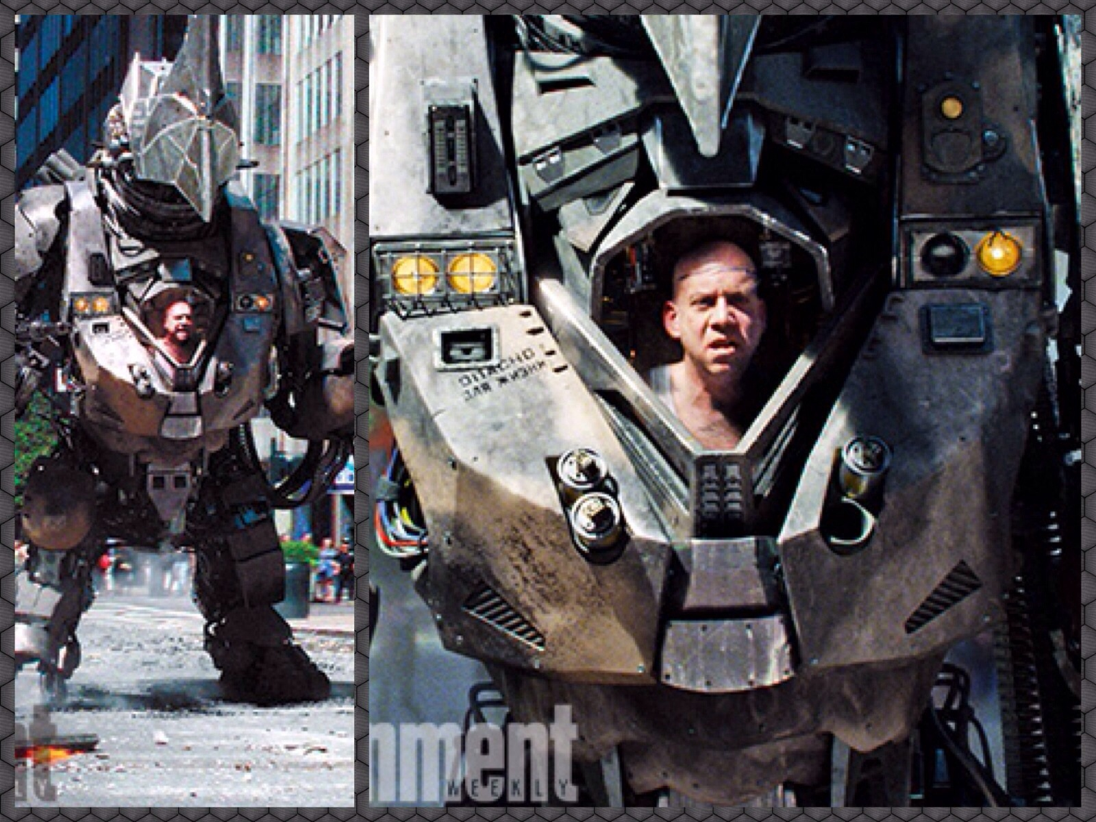 Check out our first proper look at Paul Giamatti's Rhino ...