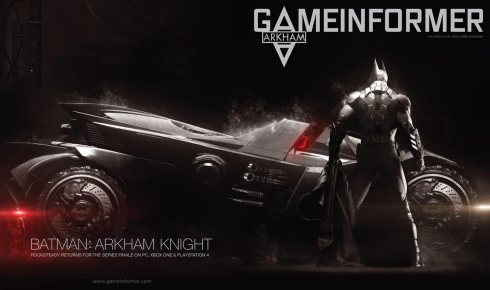 Gameinformer cover gives us a cracking look at the Batmobile