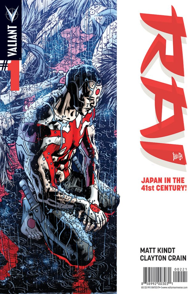 RAI #1 cover by Bryan Hitch