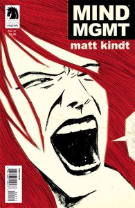 Mind MGMT #21, on sale this Wednesday