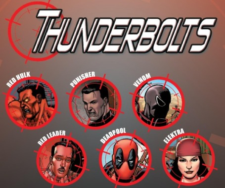 The Thunderbolts Team.