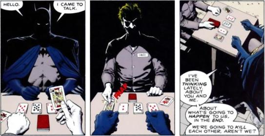 Batman; The Killing Joke, Cards