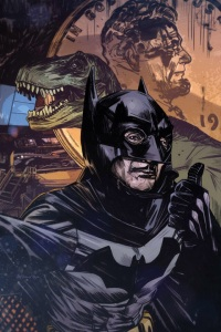 Detective Comics #34 by Tommy Lee Edwards