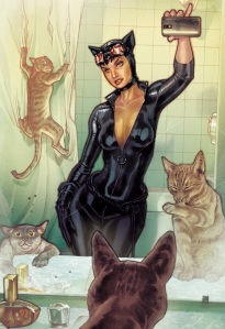 Catwoman #34 by Stephane Roux