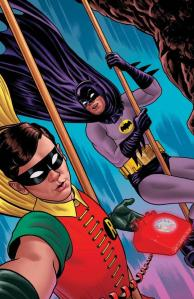 Batman '66 #10 by Joe Quinones