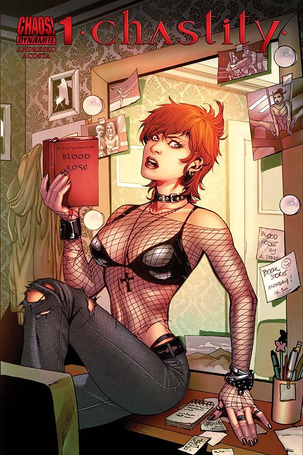 Review Chastity 1 Dynamite Comics Big Comic Page