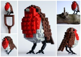 'Bobby the Robin Redbreast' is just one of three 'Lego Birds' sets that will go into production