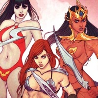 Gail Simone headlines all-female writing team on Dynamite's SWORDS OF SORROW crossover!