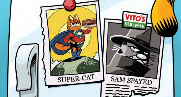 Review Garfield 35 His 9 Lives Part 3 Of 4 Boom Studios Big Comic Page