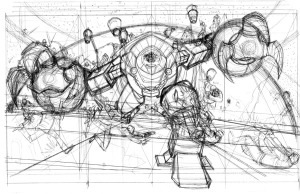 Concept art for Joe's cover. Click to enlarge.