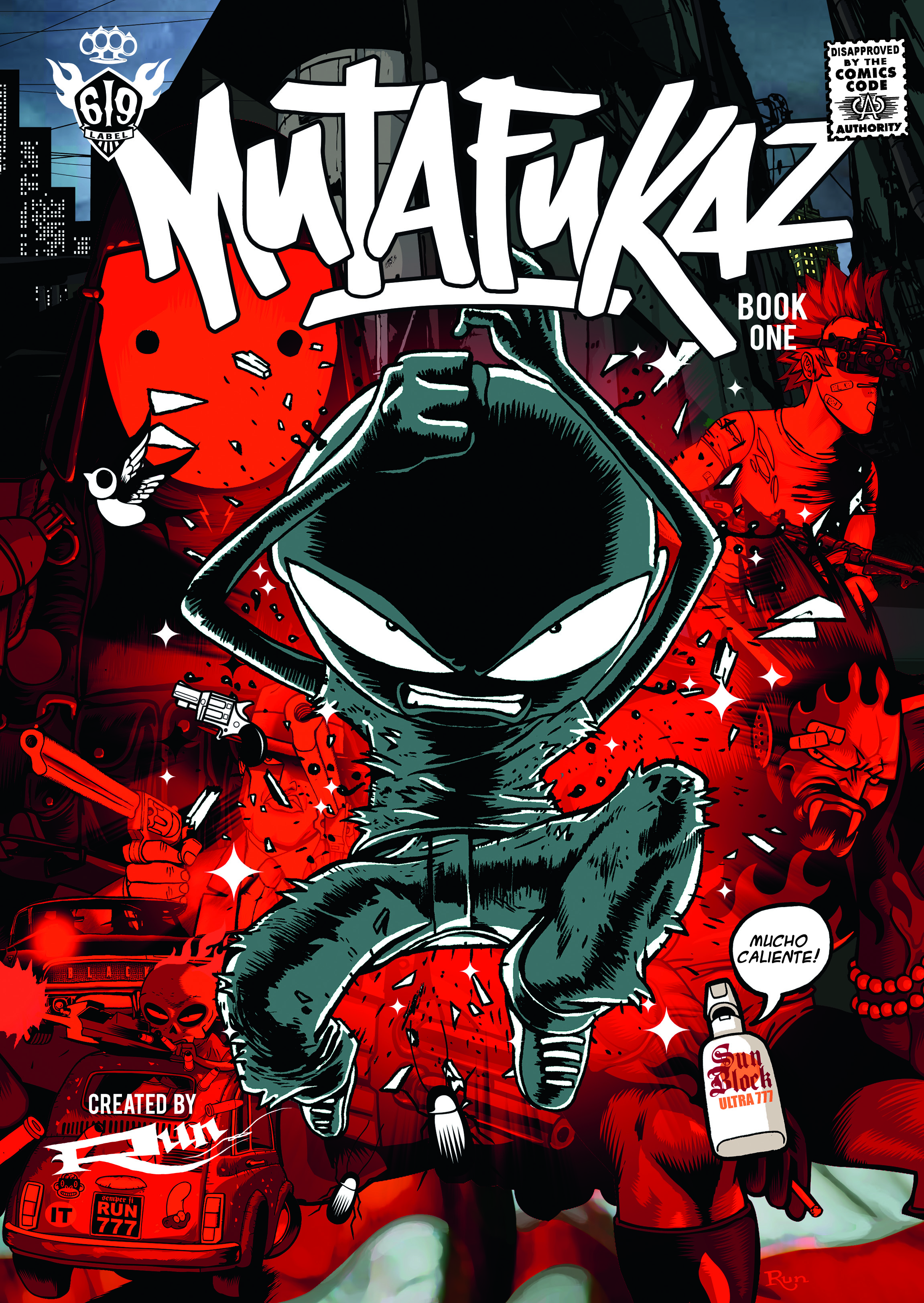 Advance Review Mutafukaz Book One Titan Comics Big Comic Page