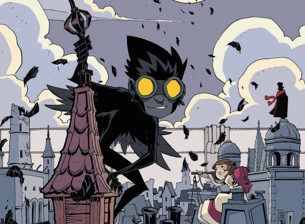 Review – Feathers HC (BOOM! Studios) – BIG COMIC PAGE