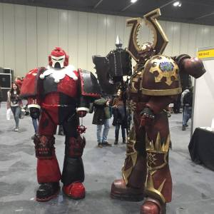 Cosplay: Go big or go home, right? - CLICK TO ENLARGE