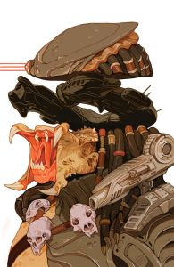 Variant cover from Sachin Teng - CLICK TO ENLARGE