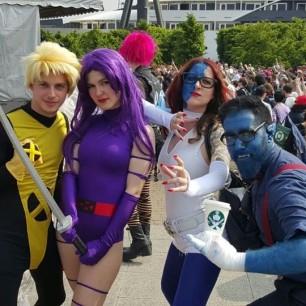 X-Men (Picture Credit - Louise Saul)