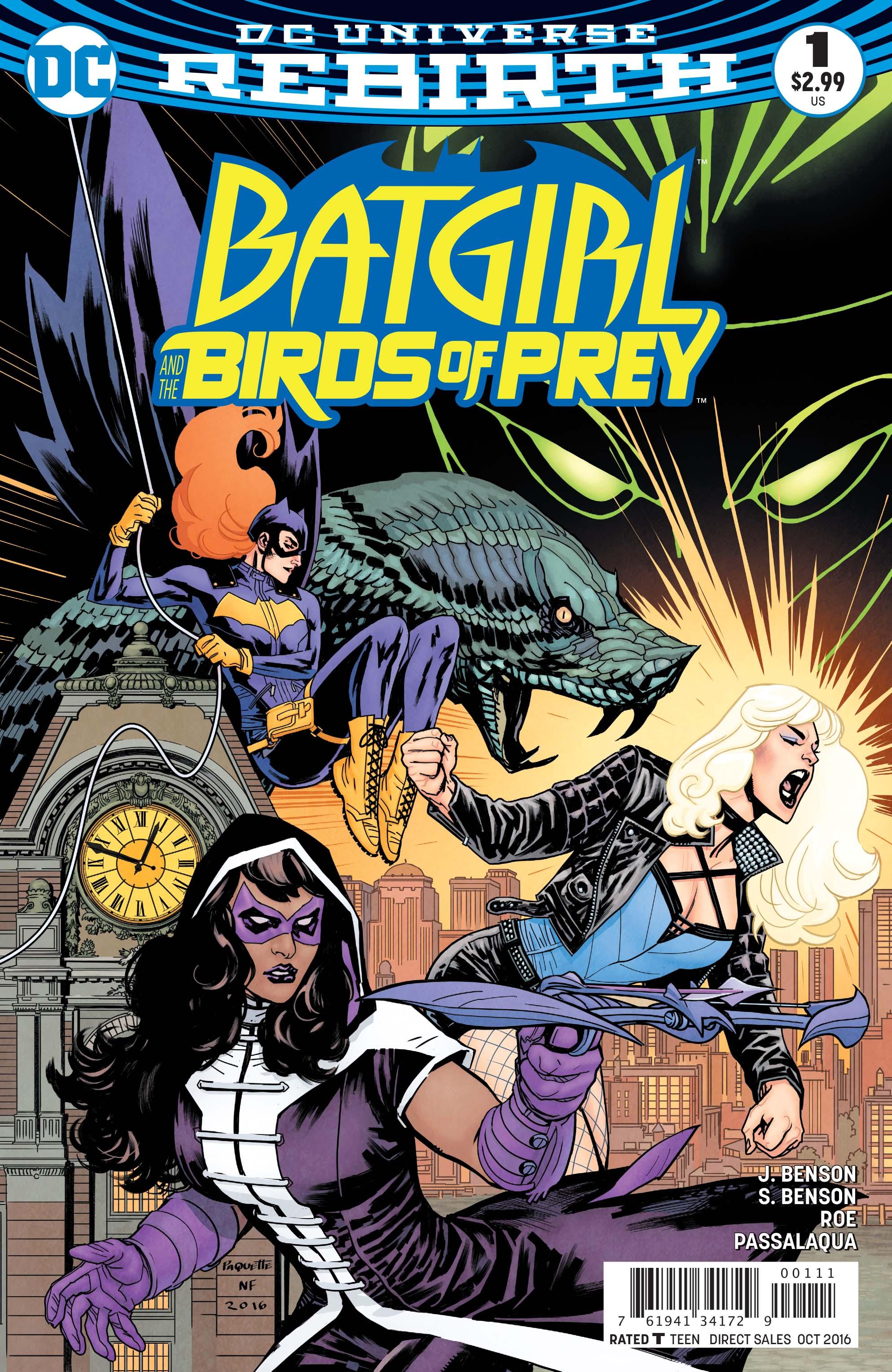 REBIRTH COMIC BATGIRL #4 DC 2016 1st Print