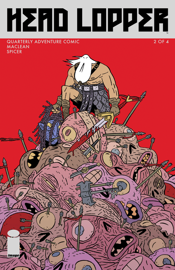 Cover to issue #2 - CLICK TO ENLARGE