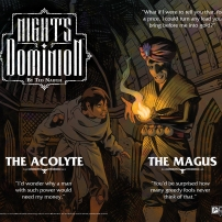NIGHTSDOM PROMO MAGUS+ACOLYTE