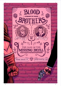 Artwork from Fabian Rangel Jr and Javier Martin Caba's BLOOD BROTHERS - Click to Enlarge