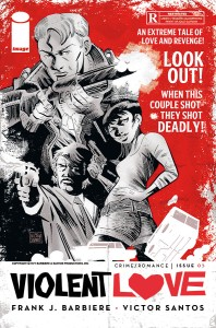 Variant cover to issue #1 - CLICK TO ENLARGE
