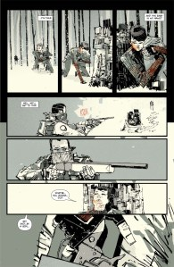 Artwork from issue #1 - CLICK TO ENLARGE