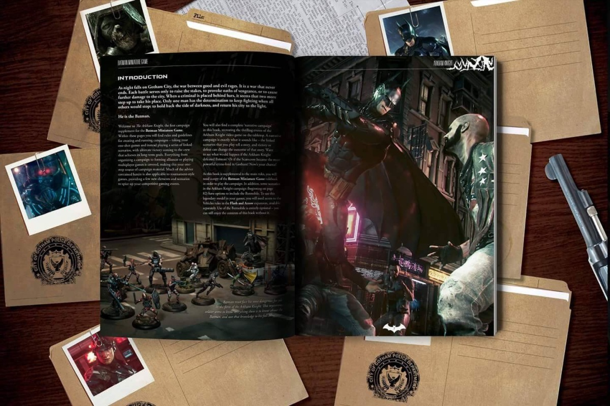 Geeking Out - BMG Arkham Knight Campaign Book review and giveaway!