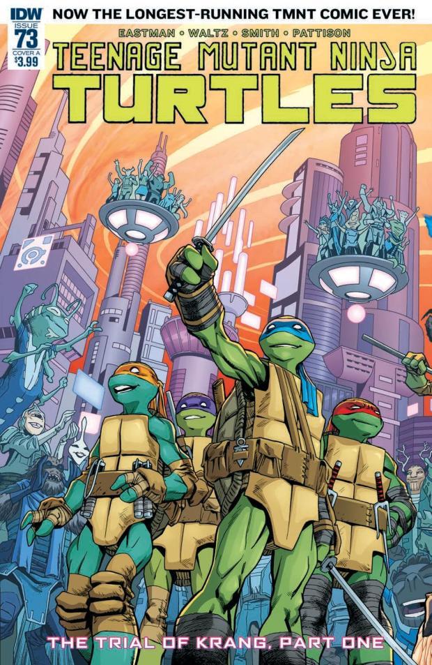 review teenage mutant ninja turtles 73 idw publishing big