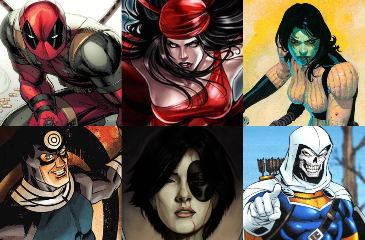 Taking Aim at the 15 Deadliest Assassins in the Marvel Universe