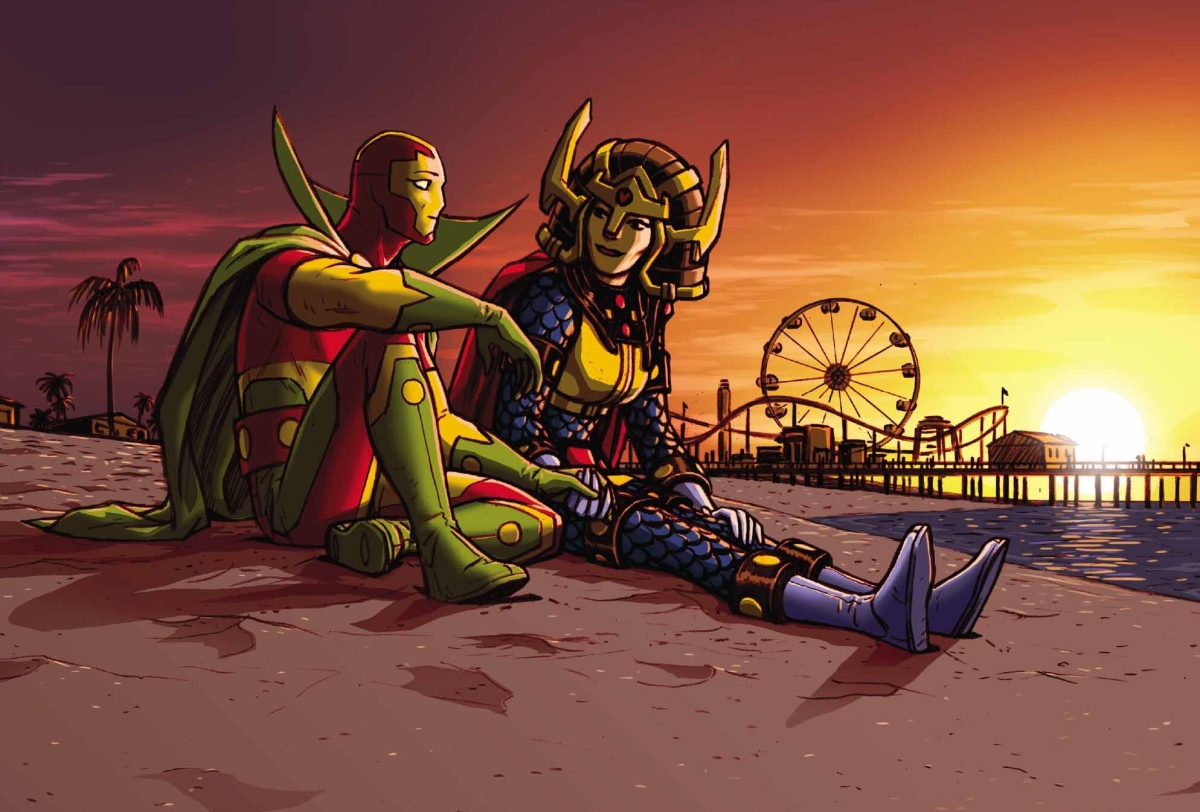 Group Chat Review – Mister Miracle #5 (DC Comics)