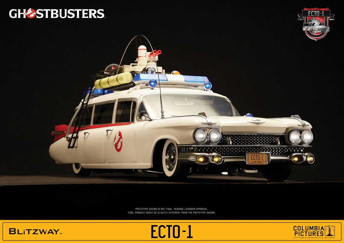 Bluefin Announces Retail Release of 1/6 Scale ECTO-1 Ghostbusters Model