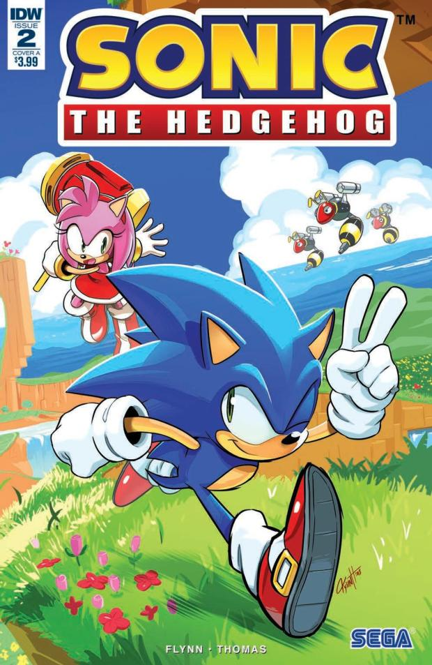 Review – Sonic The Hedgehog #2 (IDW Publishing) – BIG COMIC PAGE