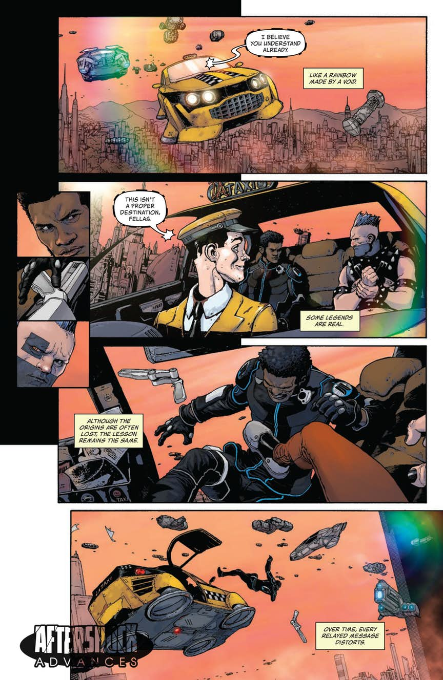 Review Relay 1 Aftershock Comics Big Comic Page Switch Animation Preview Artwork