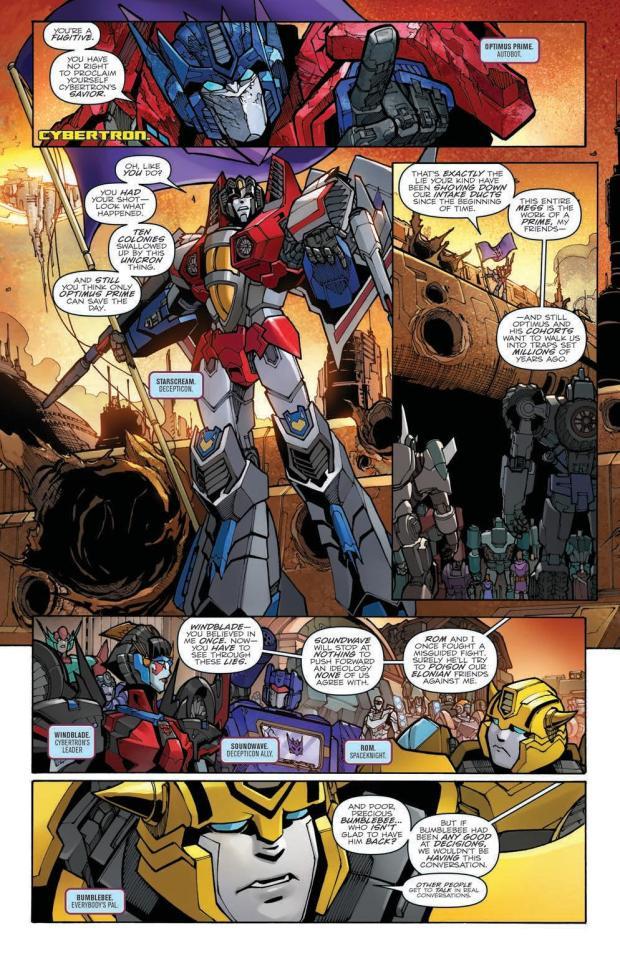 Review – Transformers: Unicron #2 (IDW Publishing) – BIG