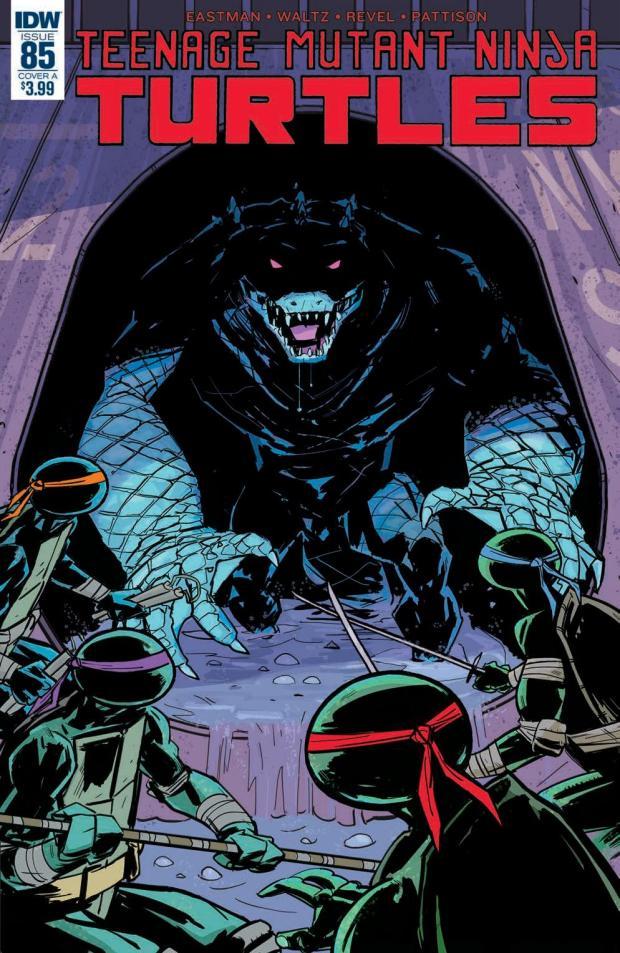 review teenage mutant ninja turtles 85 idw publishing big