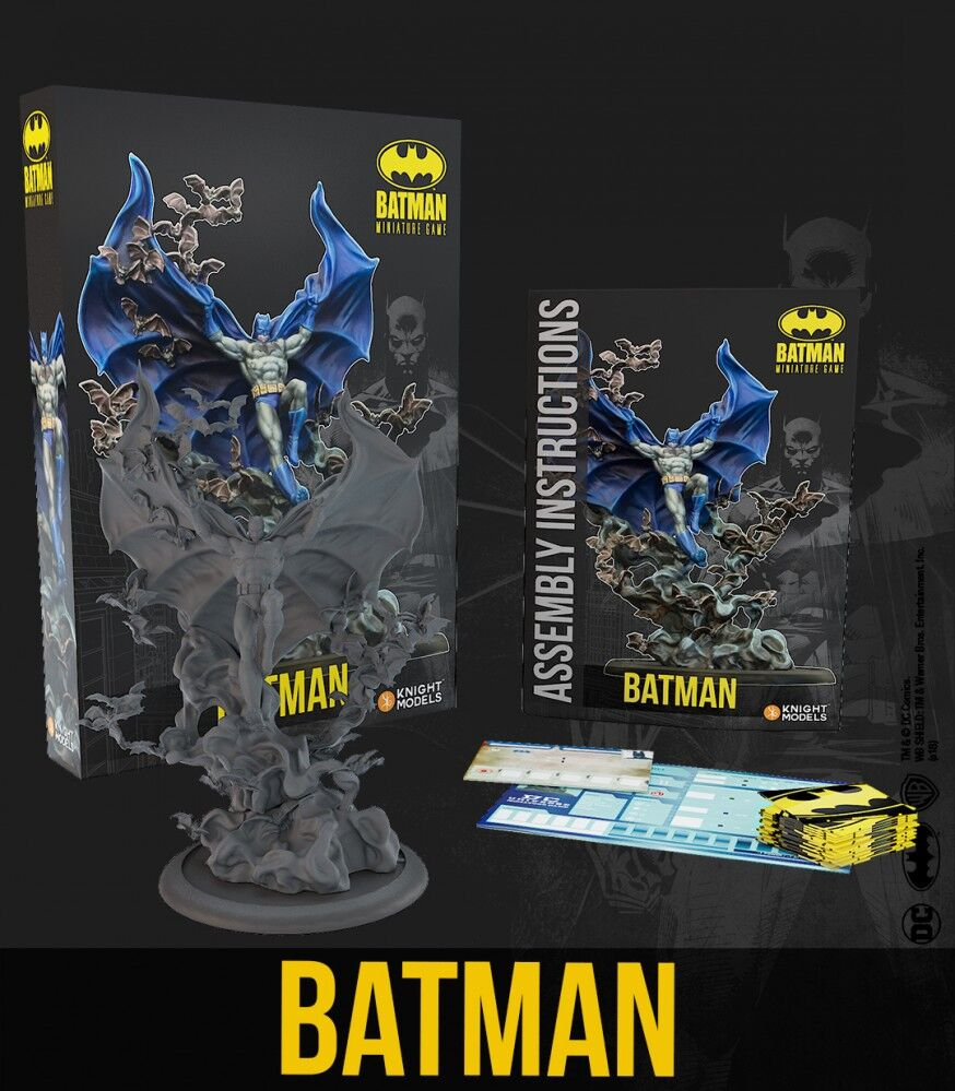 CLAYFACE RESIN FIGURE BATMAN MINIATURE GAME BY KNIGHTS MODELS