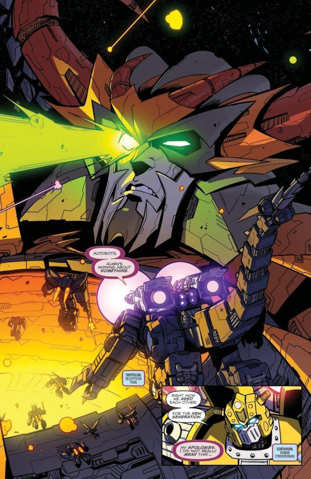 Review – Transformers: Unicron #6 (IDW Publishing) – BIG