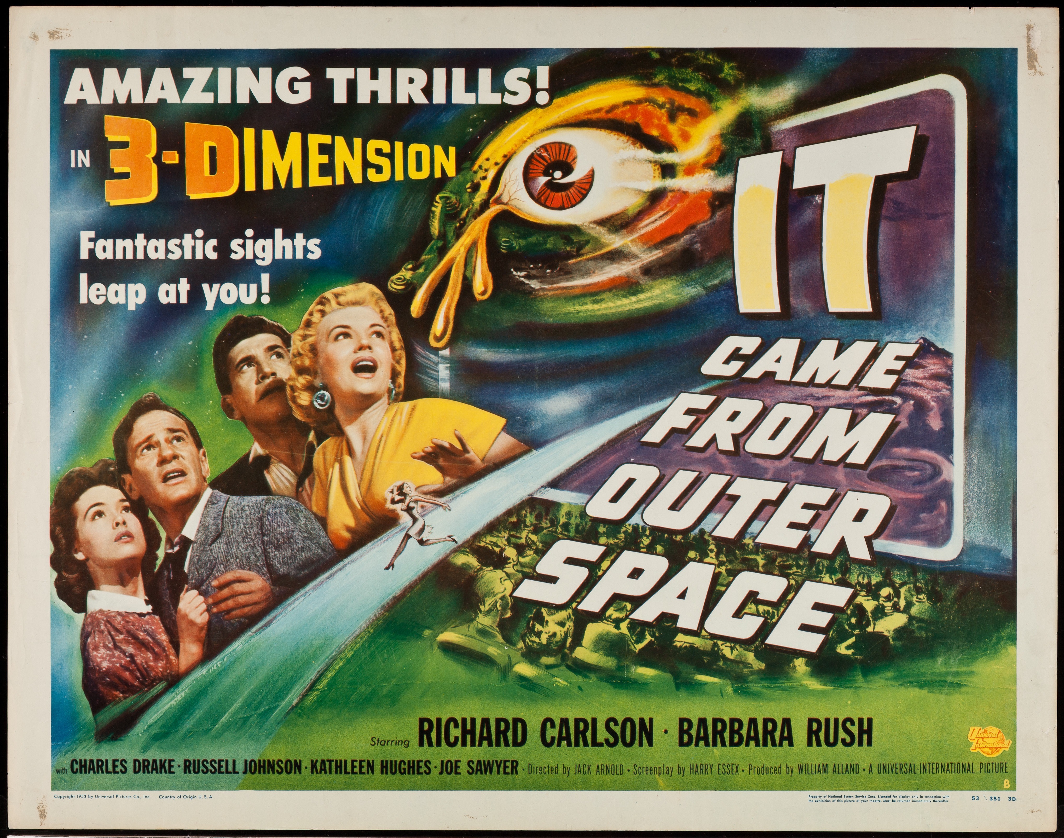 It Came From Outer Space (1953) [31 Days of American Horror Review ...
