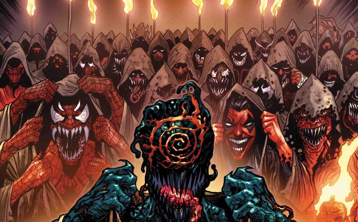 A New Evil Rises this April in WEB OF VENOM: CULT OF CARNAGE #1