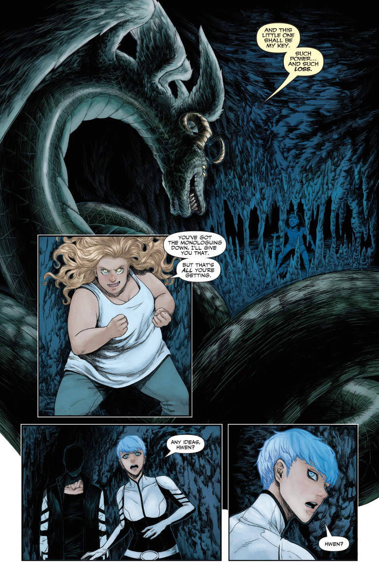 Review – Faith: Dreamside #4 (of 4) (Valiant) – BIG COMIC PAGE