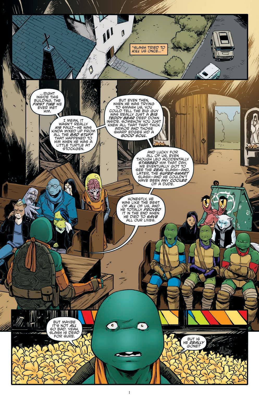 Review – Teenage Mutant Ninja Turtles #90 (IDW Publishing