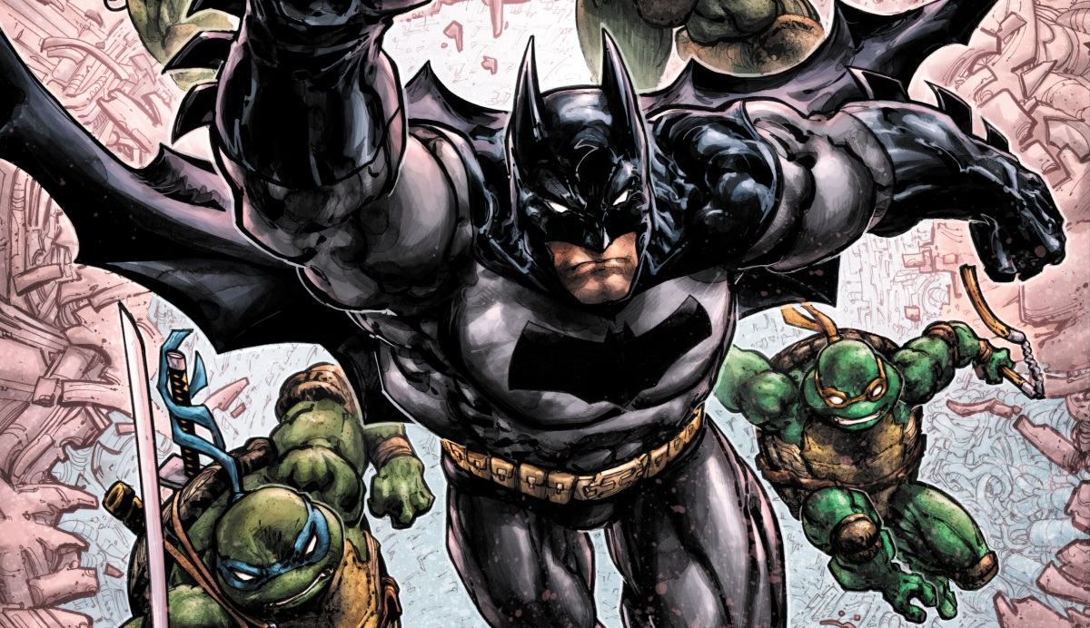 The Batman/TMNT Crossover Trilogy Reaches Its Conclusion In New DC/IDW Series This May